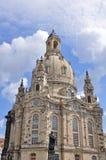 Frauenkirche church. Frauenkirche, protestant church at Dresden Stock Images