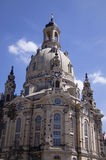 The Frauenkirche church, Dresden Royalty Free Stock Image