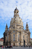Frauenkirche church in Dresden, Germany Royalty Free Stock Photography