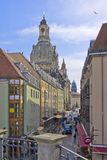 The Frauenkirche Church of Dresden, Saxony, Germany Stock Image