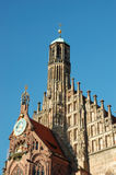 Frauenkirche church in Nuremberg,Germany Royalty Free Stock Photos