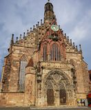 The Frauenkirche (Church of Our Lady) Royalty Free Stock Images
