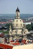 frauenkirche de Dresde Photographie stock