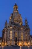 Frauenkirche Dreaden Royalty-vrije Stock Afbeelding