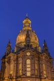Frauenkirche Dreaden Royalty-vrije Stock Fotografie