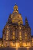 Frauenkirche Dreaden Royalty-vrije Stock Afbeeldingen