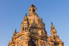 Frauenkirche Dreaden Royalty-vrije Stock Foto