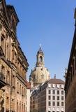 Frauenkirche Dreaden Royalty-vrije Stock Foto's