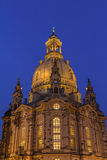 Frauenkirche (Church of our Lady) Dresden  Royalty Free Stock Photography