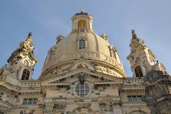 Frauenkirche Dresda Immagini Stock Libere da Diritti