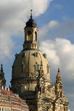 Frauenkirche Dresden Stockfotos