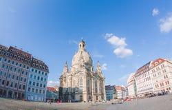 Frauenkirche in Dresden lizenzfreie stockbilder