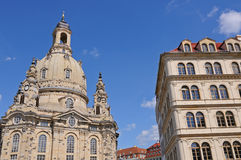 Frauenkirche Dresden Royalty Free Stock Image