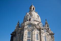 frauenkirche dresden стоковые изображения
