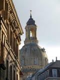 frauenkirche dresden стоковое изображение rf