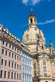 The Frauenkirche in Dresden Stock Photography