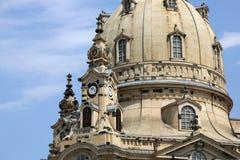 Frauenkirche Dresden Stock Photography