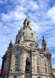 Frauenkirche in Dresden Royalty-vrije Stock Foto