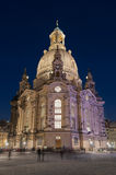 Frauenkirche in Dresden. The Church of Our Lady (Frauenkirche) in Dresden, Germany Royalty Free Stock Image