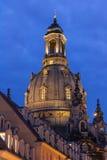 Frauenkirche Dresden Stock Afbeelding