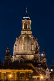 Frauenkirche in Dresden Royalty-vrije Stock Foto's