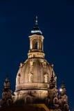 Frauenkirche in Dresden Stock Fotografie