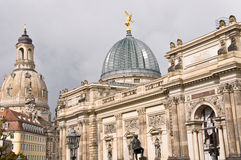 Frauenkirche, Dresden Stock Photo