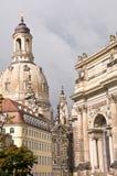 Frauenkirche, Dresden Stock Afbeelding