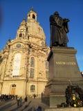 frauenkirche dresden Стоковая Фотография