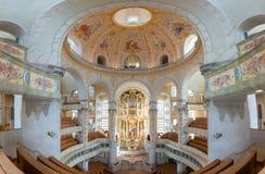 Frauenkirche, Dresden, Alemania imágenes de archivo libres de regalías