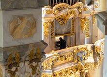 Frauenkirche, Dresden, Alemania foto de archivo libre de regalías