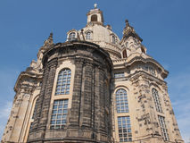 Frauenkirche Dresden Stock Photo