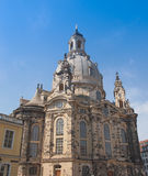 Frauenkirche Dresden Stock Photography