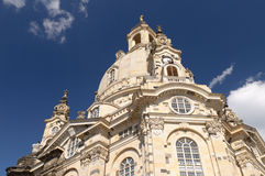 Frauenkirche, Dresden, Germany Royalty Free Stock Photography