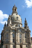 Frauenkirche, Dresden (Germany) Royalty Free Stock Images