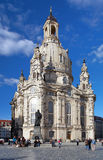 Frauenkirche in Dresden, Germany Stock Images
