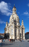 Frauenkirche in Dresden, Germany Royalty Free Stock Photos