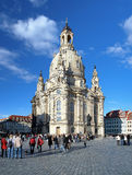Frauenkirche in Dresden, Germany Royalty Free Stock Photography
