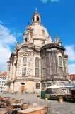 Frauenkirche in Dresden Stock Photography