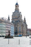 Frauenkirche in Dresden 1 Royalty Free Stock Photos
