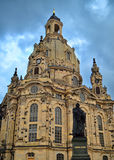 The Frauenkirche in Dresden Royalty Free Stock Photos