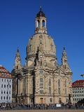 The Frauenkirche in Dresden, Saxony royalty free stock photography