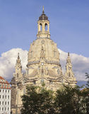 Frauenkirche Dresden Royalty Free Stock Photos