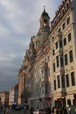 The Frauenkirche in Dresden, Saxony royalty free stock image