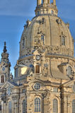 Frauenkirche in Dresden Royalty Free Stock Photos