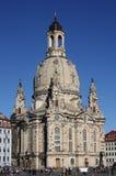The Frauenkirche in Dresden, Saxony stock photos