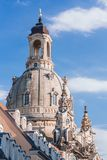 Frauenkirche en Dresden Imágenes de archivo libres de regalías