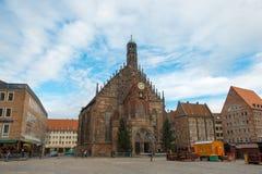 Frauenkirche en Nuremberg Foto de archivo libre de regalías