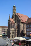 Frauenkirche en Nuremberg, Alemania, 2015 Foto de archivo
