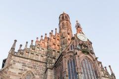 Frauenkirche en Nuremberg, Baviera, Alemania Fotos de archivo